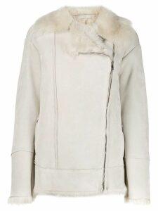 Salvatore Santoro lined coat - White