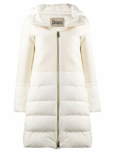 Herno padded hooded coat - White