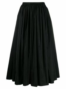 Stefano Mortari pleated skirt - Black