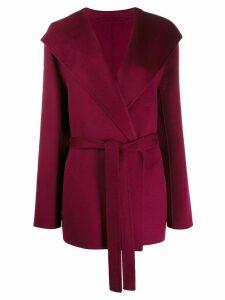Joseph Lima tie-waist coat - Pink