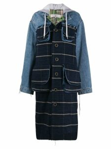 Natasha Zinko denim coat - Blue