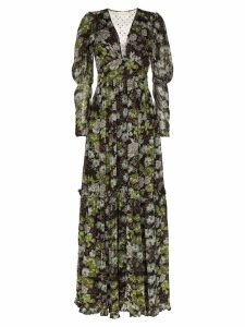byTiMo floral print long sleeves tiered maxi dress - Multicolour