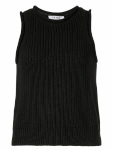 FRAME knitted tank top - Black