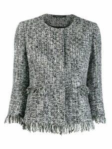 Tagliatore Milly tweed jacket - Grey