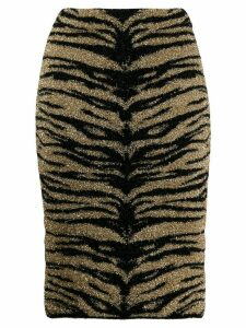 Laneus metallic tube skirt - GOLD