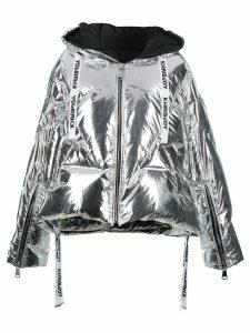 Khrisjoy Khris puffer jacket - Silver