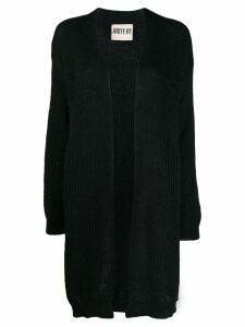 Aniye By open front knit cardigan - Black