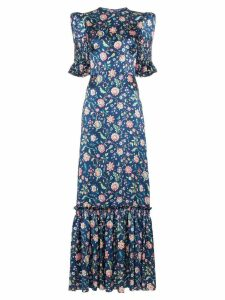 The Vampire's Wife floral print maxi dress - MULTICOLOURED