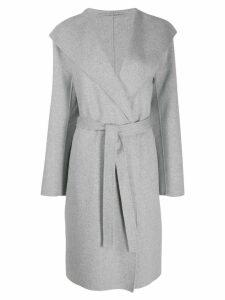 Joseph Lima tie-waist coat - Grey