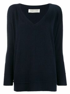 Lamberto Losani loose-fit jumper - Blue