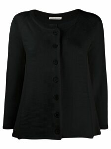 Stefano Mortari relaxed-fit knit cardigan - Black