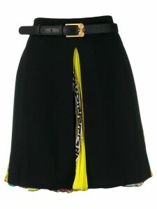 Versace high-waist A-line skirt - Black