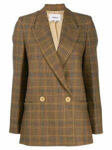 Nanushka double buttoned blazer - Neutrals