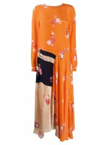 Preen Line Selena dress - Orange