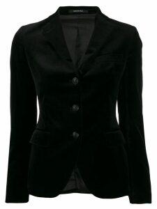 Tagliatore tailored blazer - Black