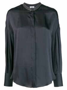 Brunello Cucinelli loose-fit blouse - Blue