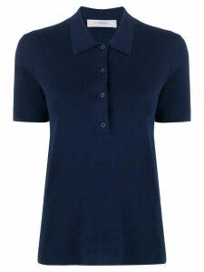 Pringle Of Scotland short sleeved polo shirt - Blue