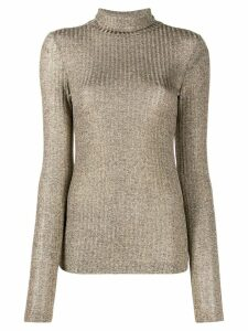 Dondup ribbed Dolcevita jumper - Neutrals