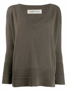 Lamberto Losani loose-fit jumper - Green