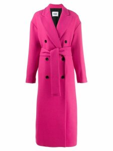 MSGM double breasted overcoat - Pink