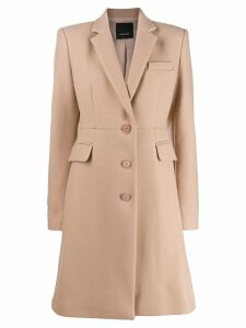 Pinko single breasted coat - NEUTRALS