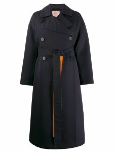 Roksanda oversized trench coat - Blue