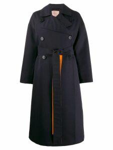 Roksanda oversized trench coat - Blue