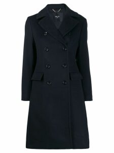 Paltò double-breasted trench coat - Blue