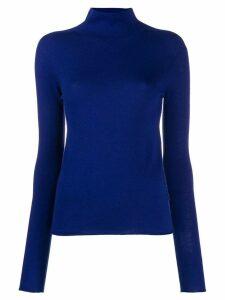 Joseph turtleneck knitted sweater - Blue