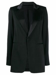 Joseph Stearn deep V-neck blazer - Black