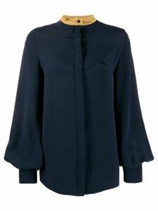 Roksanda bell sleeve blouse - Blue