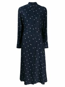 Joseph abstract print shirt dress - Blue