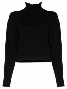 Le Kasha Vail turtleneck cashmere sweater - Black