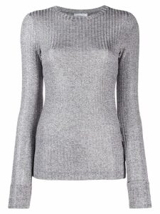 Dondup fitted ribbed top - Grey