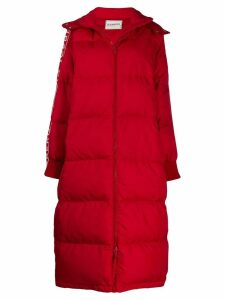 Iceberg long padded coat - Red