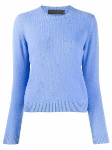 The Elder Statesman round neck jumper - Blue