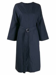 Joseph Etta poplin midi dress - Blue