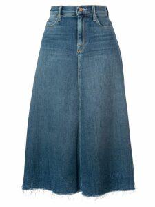 Mother high waisted denim skirt - Blue