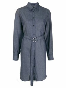 Joseph Fred Chambray shirt dress - Blue