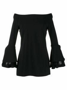 Le Petite Robe Di Chiara Boni off the shoulders dress - Black