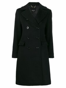 Paltò double breasted coat - Black