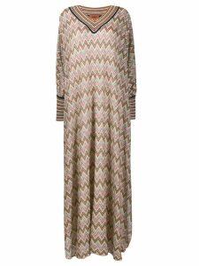 Missoni oversized printed dress - Pink