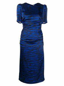 P.A.R.O.S.H. animal print dress - Blue