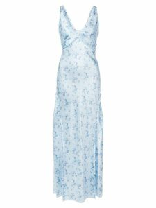 Love Shack Fancy Kendall dress - Blue