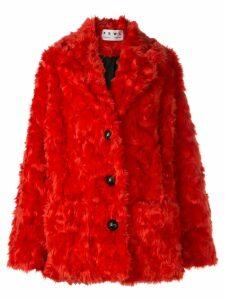 Proenza Schouler PSWL Faux Shearling Long Coat - Pink