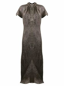 Maria Lucia Hohan Julissa dress - SILVER