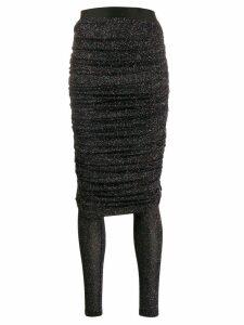 Faith Connexion draped skirt - Black