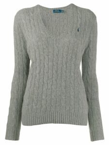 Polo Ralph Lauren classic cable knit jumper - Grey