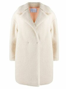 Harris Wharf London textured coat - Neutrals