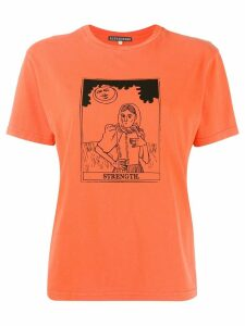 Alexa Chung Strength T-shirt - Orange